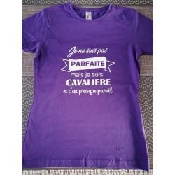 "Tee-shirt ""cavalière"""