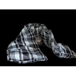 Bouillotte longue madras noir